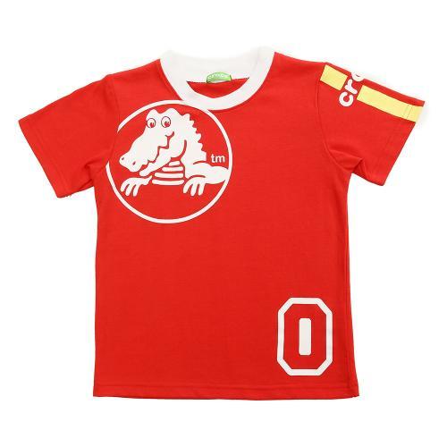 クロックス(crocs) ワンポイントTシャツ cr116383RD16S(Jr)