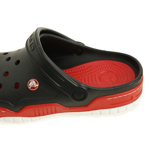 クロックス(crocs) フロント コート クロッグ(front court clog) Blk/Red #14300-063(Men's)