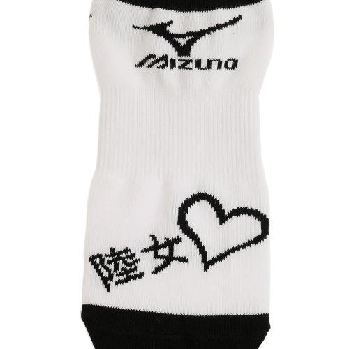 ミズノ(MIZUNO) ゼビオ限定 陸女 アンクルソックス U2JX6Z0101(Lady's)