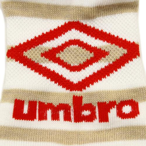 アンブロ(UMBRO) ゼビオ限定 デザインアンクルソックス 25-27cm 3足組 UCS8647X WBB27 (Men's)