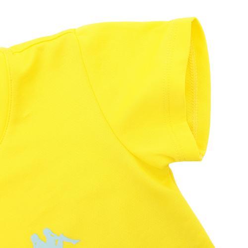 カッパ(Kappa) ゼビオ限定 ガールズ Tシャツ KM6B2TS82-YE(Jr)