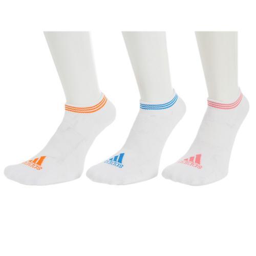 アディダス(adidas) アンクルソックス 3足組 3134-01D001(Lady's)