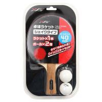 エックスティーエス(XTS) 卓球ラケット 貼り上がり シェイクラケット 740G6CM2910(Men's、Lady's、Jr)