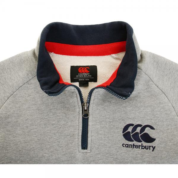 カンタベリー(canterbury) スウェット ジップアップシャツ RA46900 15(Men's)