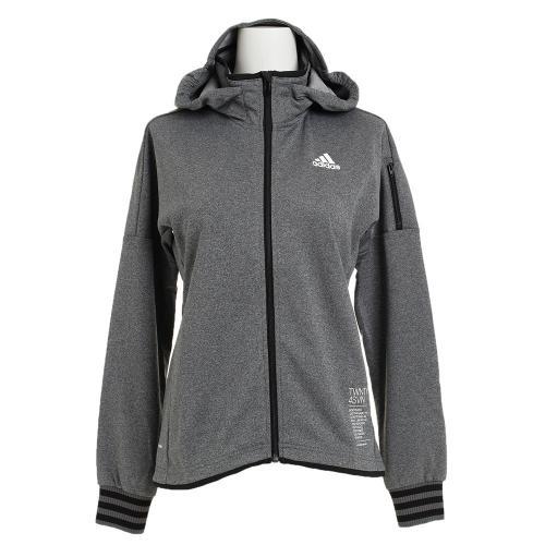 アディダス(adidas) 24/7 フード付ジャージジャケット BWS96-AZ8416(Lady's)