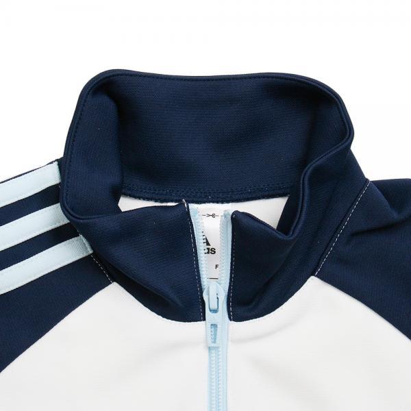 アディダス(adidas) Girls エッセンシャルズ ジャージジャケット BVA23-AZ7477 (Jr)
