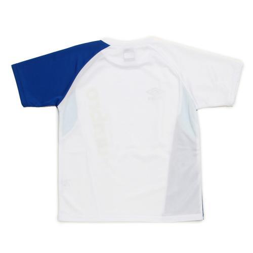 アンブロ(UMBRO) ジュニア Tシャツ UCS7586XJ WHBU(Jr)