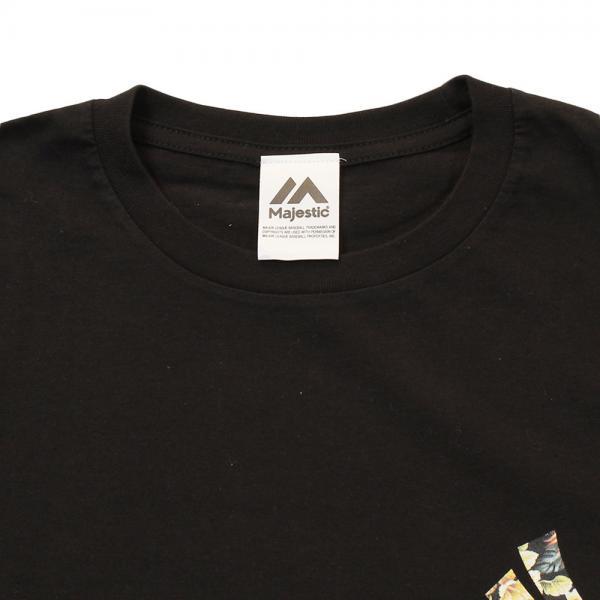 メーカーブランド(BRAND) 花柄 胸ロゴTシャツ MM01-NYK-0168-BLK5(Men's、Lady's)