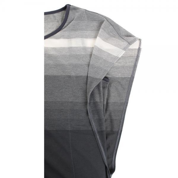 アディダス(adidas) ヨガ ボーダー半袖Tシャツ BUT88-AZ8476(Lady's)
