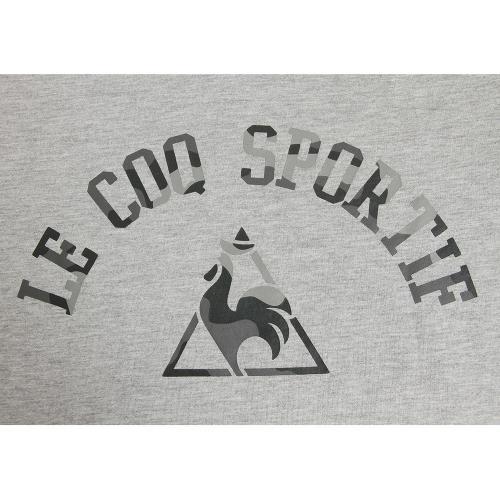 ルコック スポルティフ(Lecoq Sportif) 半袖Tシャツ QL-031351B MGR(Men's)