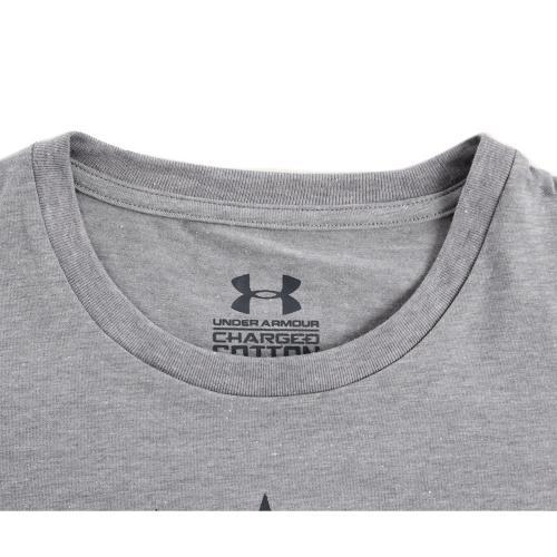 アンダーアーマー(UNDER ARMOUR) チャージドコットン ヒートギア 半袖Tシャツ アップリケ96 MTR8276 TRH(Men's)