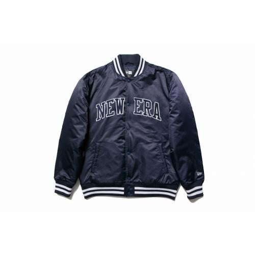 ニューエラ(NEW ERA) Nylon Varsity Jacket New Era ネイビー 11321718(Men's)