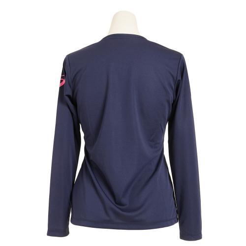 アシックス(ASICS) プリント 長袖Tシャツ XT594N.50A(Lady's)