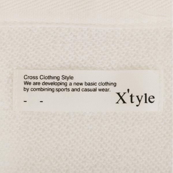 エックスタイル(Xtyle) TC裏毛 ジップパーカー 872C6CD8156OWHT(Lady's)