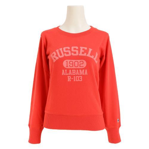 ラッセル(RUSSELL) クルーネック スウェット 1902 RBL16F1001RED(Lady's)