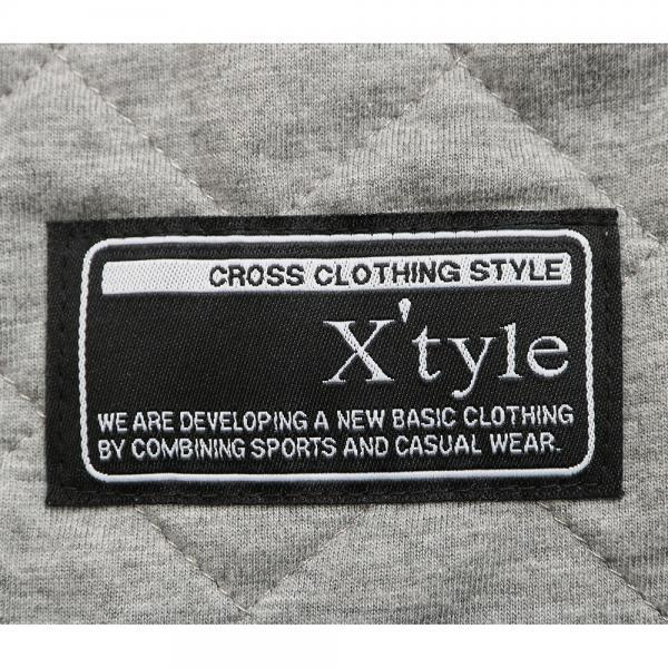 エックスタイル(Xtyle) ニットキルト パンツ 862C6XA7538 GRY(Jr)