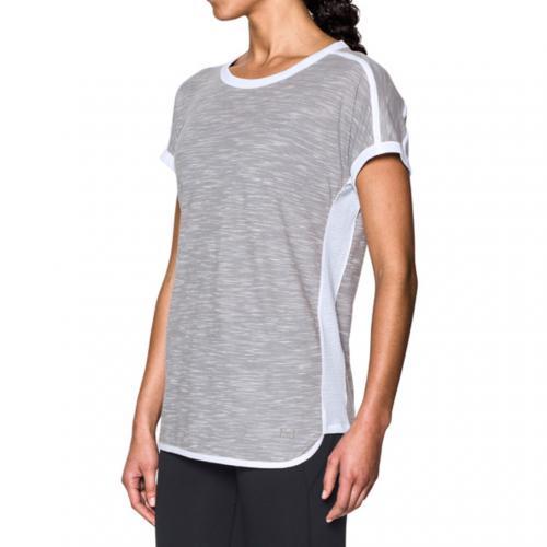 アンダーアーマー(UNDER ARMOUR) ファシュリート Tシャツ #1290073 TGH/WHT/STL AT(Lady's)