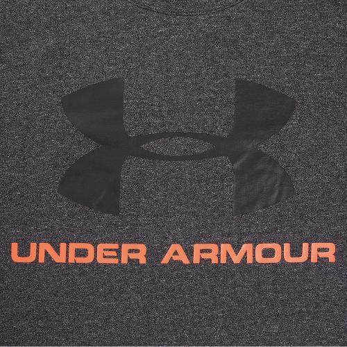 アンダーアーマー(UNDER ARMOUR) スポーツスタイル ロゴTシャツ #1257615 BLK/PXF/BLK AT(Men's)