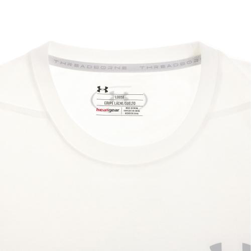 アンダーアーマー(UNDER ARMOUR) スレッドボーン サイロTシャツ #1289583 WHT/OVC AT(Men's)