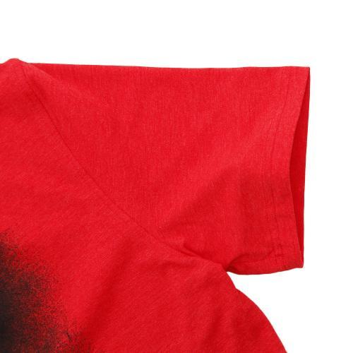 アンダーアーマー(UNDER ARMOUR) チャージドコットン オーバースプレーロゴ Tシャツ #1289894 RMH/BLK AT(Men's)