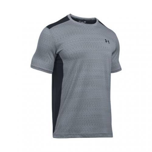アンダーアーマー(UNDER ARMOUR) ヒットジャカードショートスリーブTシャツ #1294215 STL/GPH/BLK AT(Men's)