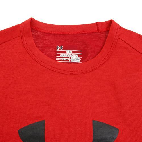 アンダーアーマー(UNDER ARMOUR) スポーツスタイル ブランディド 半袖Tシャツ #1294251 RED/BLK AT(Men's)