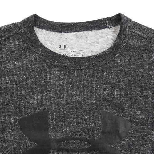 アンダーアーマー(UNDER ARMOUR) スポーツスタイル ブランディド 半袖Tシャツ #1294251 SLG/BLK AT(Men's)
