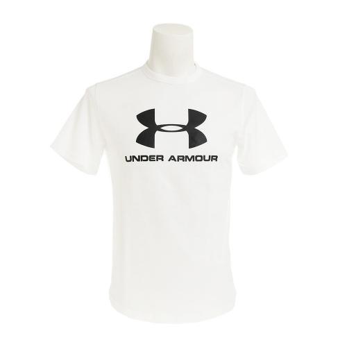 アンダーアーマー(UNDER ARMOUR) スポーツスタイル ブランディド 半袖Tシャツ #1294251 WHT/BLK AT(Men's)