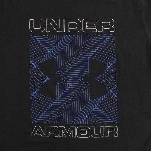 アンダーアーマー(UNDER ARMOUR) 半袖Tシャツ #1300350 BLK/WHT/BMK AT(Men's)