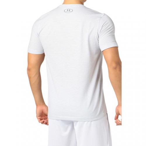 アンダーアーマー(UNDER ARMOUR) チャージドコットン ショートスリーブ Tシャツ #MTR3181 WHT/GPH AT(Men's)