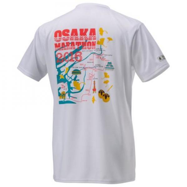 ミズノ(MIZUNO) 大阪マラソン2016 Tシャツ J2MA6Y5601(Men's、Lady's)
