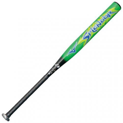 ミズノ(MIZUNO) ソフトボール用金属製バット スプレンダー 84cm/平均700g ゴム3号 1CJMS30584 3509(Men's)