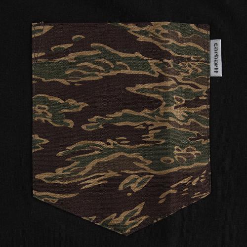 カーハート(CARHARTT) ポケット付き ショートスリーブ Tシャツ I017127899717SS(Men's)
