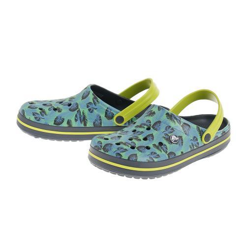 クロックス(crocs) クロックバンド トロピックス クロッグ Crocband Tropics Clog 204089-4K6 サンダル(Men's、Lady's)