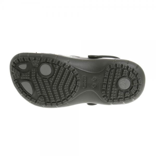 クロックス(crocs) モディ スポーツ クロッグ MODI SPORT CLOGS BLACK/GRAPHITE メンズ サンダル 204143-02S(Men's)
