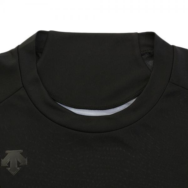 デサント(DESCENTE) 丸首 長袖 リラックスFITシャツ 大谷コレクション STD-761 BLK(Men's)