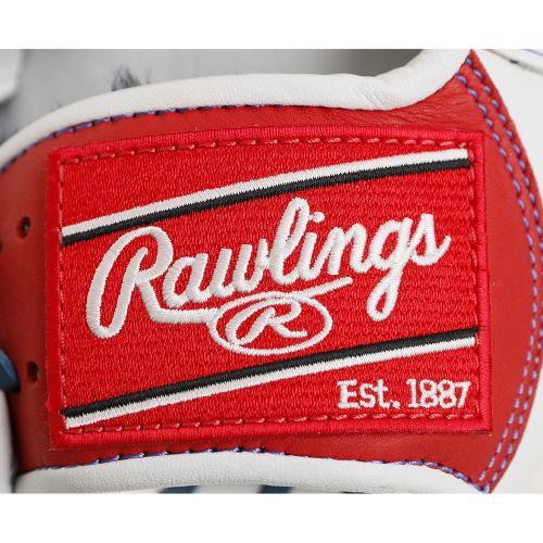 ローリングス(Rawlings) 軟式用グラブ HOHメジャースタイル オールラウンド用 GR7HM8-W/RD(Men's)