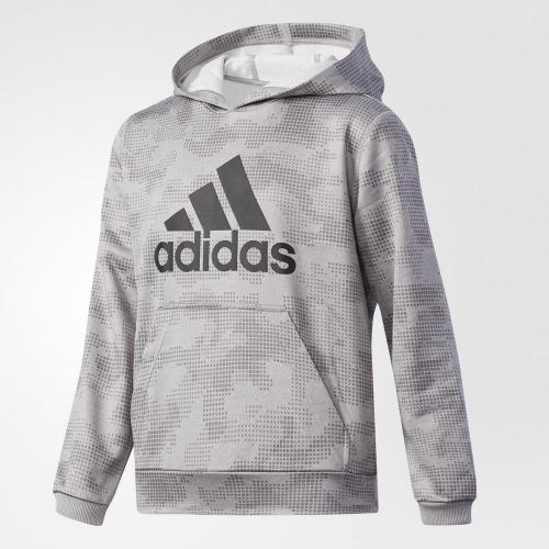 アディダス(adidas) ボーイズ ESS ライトスウェット パーカー CAMO DJH78-BR0859(Jr)