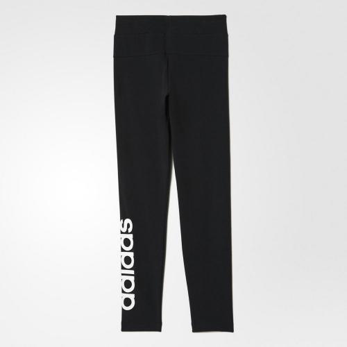 アディダス(adidas) ガールズ ESS リニアロゴ ロングタイツ MLS76-BP8585(Jr)