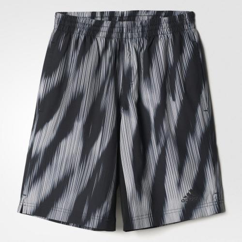 アディダス(adidas) ボーイズ TRN Crzy ウインドハーフパンツ NPZ23-BK0907(Jr)