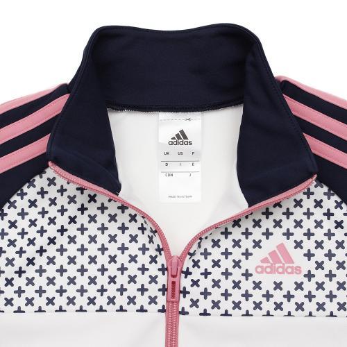 アディダス(adidas) ゼビオ限定 ウォームアップ ジャケット 17 DJQ43-BR1224(Jr)