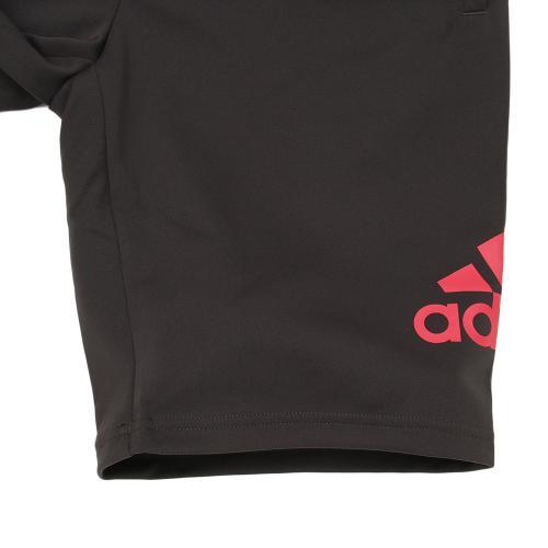 アディダス(adidas) ビッグロゴジャージハーフパンツ DJH34-BQ6616(Lady's)