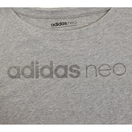 アディダス ネオ(adidas NEO) CC ロゴTシャツ MLG90-BQ0326(Lady's)