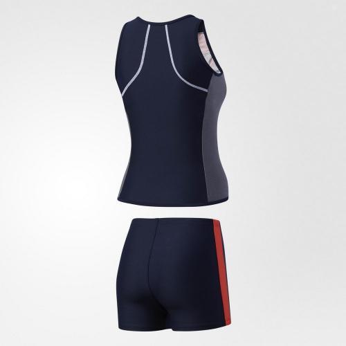 アディダス(adidas) ウィメンズ フィットネス ノースリーブ タンキニ DLR97-BS4800(Lady's)