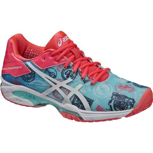 アシックス(ASICS) GEL-SOLUTION SPEED 3 L.E. PARIS E761N.4301(Lady's)