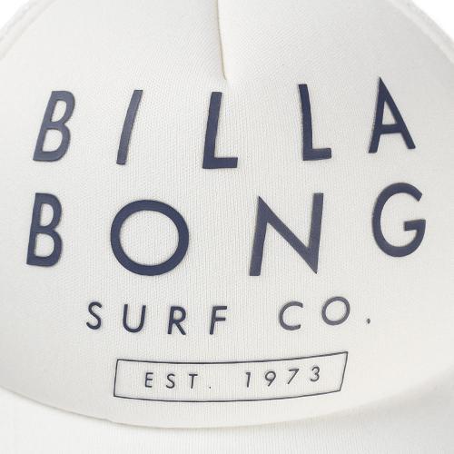 ビラボン(BILLABONG) SURF CO TRUCKER キャップ AH011939 WHT(Men's)