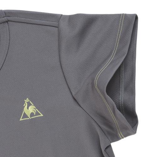 ルコック スポルティフ(Lecoq Sportif)  【ゼビオグループ限定】 Tシャツ QB-017171B CHC(Lady's)