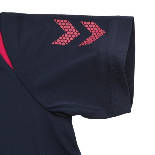 ヒュンメル(hummel) ワンポイントドライTシャツ HAY2072-7024(Men's)
