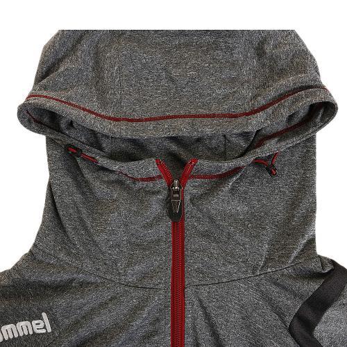 ヒュンメル(hummel) ライトスウェットフードジャケット HAP8167-03(Men's)