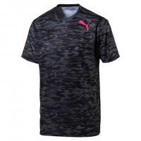 プーマ(PUMA) テック グラフィック ショートスリーブ Tシャツ 515858 01 BLK(Men's)